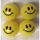A1MISMB - 38mm Plastic Smile Face Balls (100pcs @ $0.12/pc)
