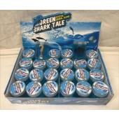 "CZSLIMESHA - 3"" Large Slime Jar with Shark Toy (24pcs @ $0.90/pc)"