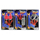 "Item# KK12828 - 3 ASSORTED 7"" POLICE PLAY SET (36pks @ $1.20/pk)"