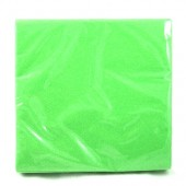 HWH146 - Lime Green Beverage Napkins 24ct. (24pks @ $1.05/pk)