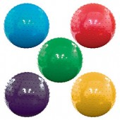 A118KNOB - 18'' Inflatable Assorted Color Knobby Balls (50 pcs @ $2.25/pc)