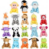 Item# A11G100MIX1 - Small Generic Mix 1 Plush Kit 6''-8'' (144 pcs @ $1.19/pc)