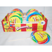 "CAND22 - 8"" Carnival Swirl Pop (12pcs @ $1.35/pc)"