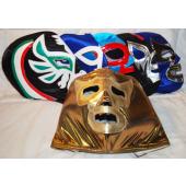 "LUCHA3 - Lucha Libre Handmade 13"" Adult Wrestling Masks (6pcs @ $9.95/pc)"