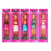 "Item# KK21297 - 11.5"" GIRL FIGURE IN SHORT SKIRT (36pcs @ $1.40/pc)"