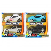 Item# KK21867  - Twin Pack Corvette And Camaro Pull Back Cars (12pks @ $13.00/pk)