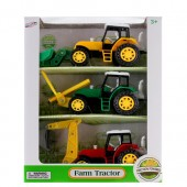 "Item# 22320 - 3 PCS 8.75"""" F/F FARM TRACTOR (12pcs @ 9.65/pc)"