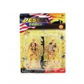 "Item# KK22793 - 2 PIECE 5"" SOLDIER PLAY SET (24pks @ $1.35/pk)"
