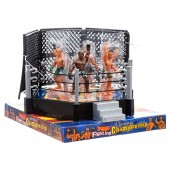 Item# CJ24395 - Wrestling Playset with Ring (6pks @ $6.50/pk)