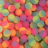Item# A132ICB - 32mm Icy Hi-Bounce Balls (100 pcs @ $0.19/pc)