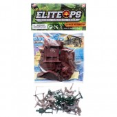 Item# CJ29128 - 18pc Soldier Playset with Map (48pks @ $1.65/pk)