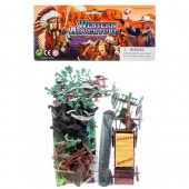 Item# CJ29131 - Cowboy and Indian Play Set (24pks @ $3.50/pk)