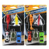 Item# KK29623 - 5pc Asst Diecast Vehicle Playset (24pks @ $1.50/pk)