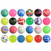 Item# A132MIB - 32mm Mixed Hi-Bounce Balls (100 pcs @ $0.15/pc)