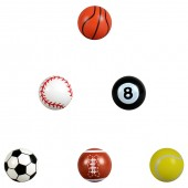 A132SPB - 32mm Sports Hi-Bounce Balls (100 pcs @ $0.22/pc)