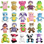 Item# A13GJUMMIX8 - Jumbo 100% Generic Mix 8 Plush Kit (60 pcs @ $2.69/pc)