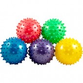 Item# A13KNOB - 3'' Inflated Assorted Knobby Balls (288 pcs @ $0.35/pc)