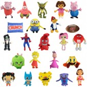 Item# A13L425 - Jumbo 100% Licensed Plush Kit (50 pcs @ $4.85/pc)