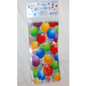"BR33 - Balloon Themed 5""x11""x3"" Party Bags (25pks @ $0.10/pc"