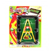"Item# KK41327 - POOL GAME SET 9.5X6.25"" (24pcs @ $1.35/pc)"
