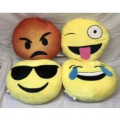 "CZEMOJIPL - 13"" Large Emoji Pillow Plush (12pcs @ $3.90/pc)"