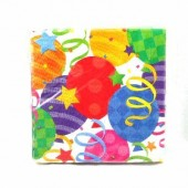 HWH149 - Balloon Lunch Napkin 20ct. @ $1.05/pk)