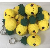 "SQUIPIN - 3"" Squishies Pineapple Keychains (12pcs @ $0.89/pc)"