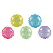 Item# A15GKNOB - 5'' Inflatable Glitter Knobby Balls (250 pcs @ $0.35/pc)