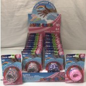"FINGSTR - Multi Color Finger String toy on 6.25"" Card (24pcs @ $1.15/pc)"