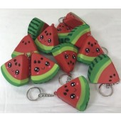 "SQUIWAT - 2.25"" Squishies Watermelon Keychains (12pcs @ 0.89/pc)"