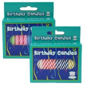 HWH153  - Candles 64ct. (72pks @ $1.20/pk)