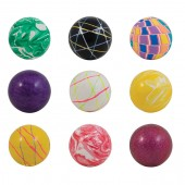 Item# A160MIB - 60mm Mixed Hi-Bounce Balls (25 pcs @ $0.85/pc)