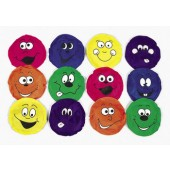 "BEANB - 5"" Reinforced Nylon Happy Face Bean Bags (12pcs @ $1.00/pc)"