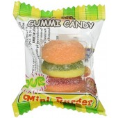 Item# C109611 - Gummi Burger (60pcs @ $0.18/pc)