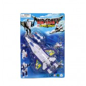 "Item# KK76630 - 9"" Airplane Robot (48pcs @ $4.50/pc)"