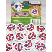 "MLBERA - 1.5"" MLB texas Rangers Erasers (48pcs @ $0.15/pc)"