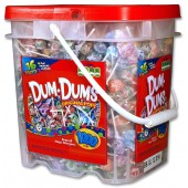 Item# C109083 - Dum Dum Pops in Bucket (1,000pcs @ $0.11/pc)