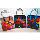 "BR189 - 6"" Big Hero 6 PVC Gift Bag (12 pcs @ $0.80/pc)"