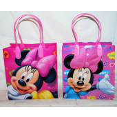 "BR239 - 6"" Disney Minnie Mouse PVC Gift Bag (12 pcs @ $0.80/pc)"
