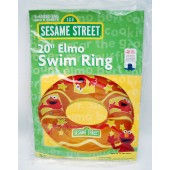 "ELMORING - 20"" Elmo Inflatable Swim Ring (12pcs @ $1.25/pc)"