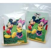 """MMNOTE - Mickey & Minnie 5""""  Notepad & Pencil Set (12pcs @ $1.50/pc)"""