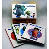 MONSTBOOK - Monster Inc 4pk Book Set (3sets @ $4.00/pc)