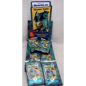 TRADE17 - 8ct Monsters Inc Trading Cards (12pks @ $0.99)