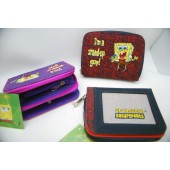 "SBWAL - 5"" Spongebob Canvas Purse/Wallet (6pcs @ $3.25/pc)"