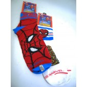 SMSOCK2 - Spiderman Socks (Boys Size 6-8.5)