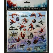SMSTICK - Spiderman Sticker Sheets (24pcs @ $1.00/pc)