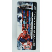 SPM6PNCL - Spiderman 6Pk Pencils (12pcs @ $1.30/pc)