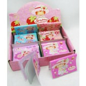 "SSPASM - Asst. Strawberry Shortcake 4""x3"" Pocket Address Book (12pcs @ $0.65/pc)"