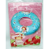 "SSRING - Strawberry Shortcake 20"" Inflatable Swim Ring (12pcs @ $1.25/pc)"