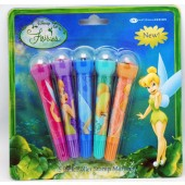 "TB5STAMP - 4.5"" Tinkerbell 5 Pk Roller Stamp and Marker on Blister Card (12pcs @ $1.30/pc)"